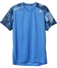 Pánské tričko adidas Response Graphic Tee Men modrá