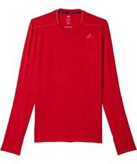 Pánské tričko adidas Supernova Long Sleeve Tee Men červená