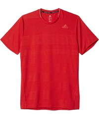 Pánské tričko adidas Supernova Short Sleeve Tee Men červená