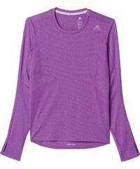 Dámské tričko adidas Supernova Long Sleeve Tee W fialová
