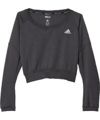 Dámská mikina adidas Aktiv Cozy Pullover W šedá