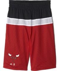 Dětské šortky adidas Y Winter Hoops Reversible Short červená