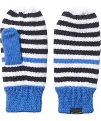Rukavice adidas Stripy Mittens modrá