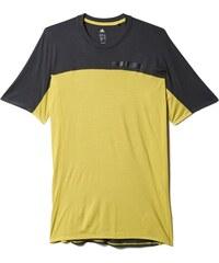 Pánské tričko adidas Terrex Solo Tee žlutá