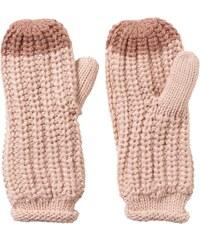 Rukavice adidas W Climawarm Chunky Mittens růžová