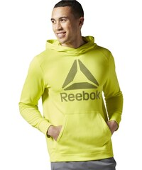 Pánská mikina Reebok Workout Warm Poly Fleece AY2438