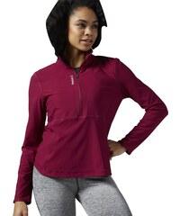 Dámské tričko Reebok Workout Long Sleeve 1/2 Zip AY1945