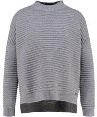 Rich & Royal Pullover grey melenge