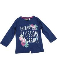 Carodel Dívčí tričko s rozparkem - modré