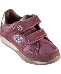 Naturino Chaussures enfant Chaussures Petite Fille Violet Velcro Cuir Sport 370