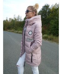Dámská bunda zimní růžová EXTERME