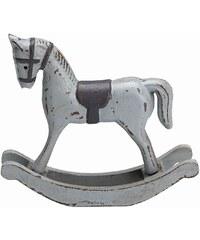 Green Gate Dekorativní houpací koník Grey