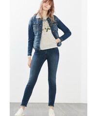 Esprit Příjemné tričko, dlouhý rukáv, potisk
