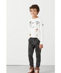 Mango Kids - Dětské kalhoty 104-164 cm