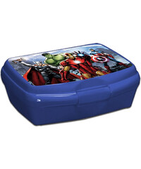 Avengers Assemble Pausenbrotbox blau in Größe UNI für Jungen