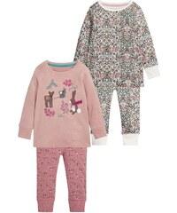 Next 2 PACK Pyjama pink