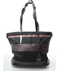 Barevně pruhovaná kabelka Thalia