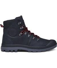 Palladium Pallab - Boots en cuir mélangé - noir