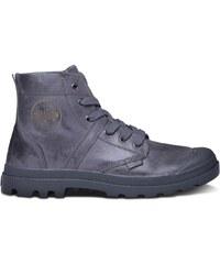 Palladium Pallab - Boots en cuir - pétrole