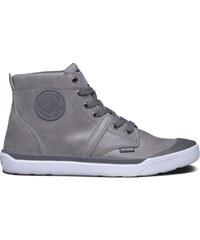 Palladium Palaru - Boots en cuir - gris