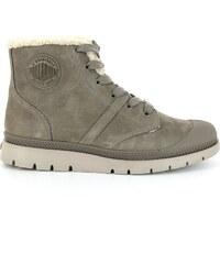 Palladium Plbric - Boots en cuir - taupe