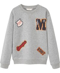 Mango Kids Sweat-shirt - gris chine