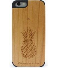 Woodstache Tropical - Coque pour iPhone 6 et 6S - marron clair
