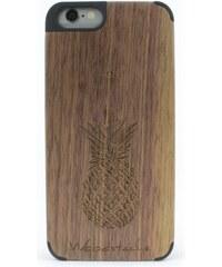Woodstache Tropical - Coque pour iPhone 6 et 6S - marron