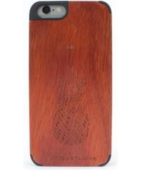Woodstache Tropical - Coque pour iPhone 6 et 6S - rouge