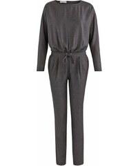Promod Combi-pantalon - gris foncé