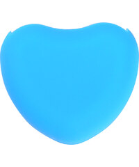 Lesara Make-up-Pinselreiniger in Herzform - Hellblau