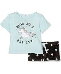 New Look Mädchen Pyjama-Sets Unicorn Spot