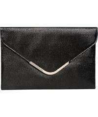Lecharme Elegantní černé společenské psaníčko 13000383-1