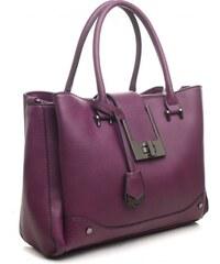 Velká fialová kabelka Bessie London