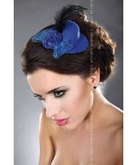 LivCo CORSETTI FASHION Ozdoba Mini top Hat 11 modrá Univerzální