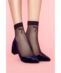 Ponožky Fiore Chic 20 den, UNI černá