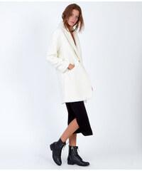 Manteau cocon en laine Etam