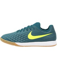 Nike Performance MAGISTAX FINALE II IC Chaussures de foot en salle midnight turquoise/volt/hasta/light brown/seaweed