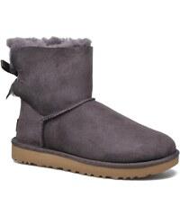 Ugg Australia - W Mini Bailey Bow II - Stiefeletten & Boots für Damen / lila