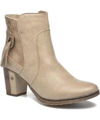 Mustang shoes - Muphit - Stiefeletten & Boots für Damen / beige