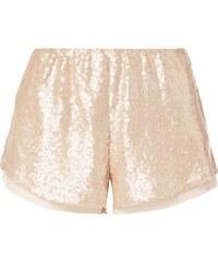 REVIEW Shorts mit Pailletten-Besatz