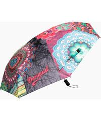 Desigual barevný deštník Seduccio