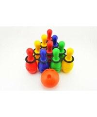 Teddies Bowling kuželky plastové 10 ks