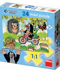Dino Puzzle Maxi Krtek 24 dílků