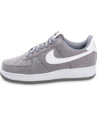 Nike Baskets Air Force 1 Suede Grise Homme