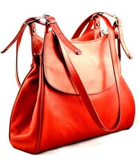 Silvercase - Sněžka Náchod Elegantní kožená kabelka Silvercase - červená 981b87b31e0