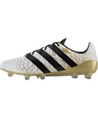 adidas Performance ACE 16.1 FG Fußballschuh Nocken white/core black/gold metallic