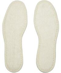 Shoeboys Schuhsohle / Fußbett Frotteesohle weiß