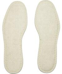 Bergal Schuhsohle / Fußbett Frotteesohle weiß