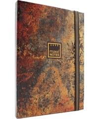 MAKENOTES Zápisník TEXTURES - Rust